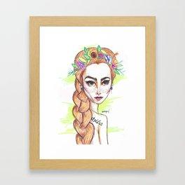 Adaraya Framed Art Print