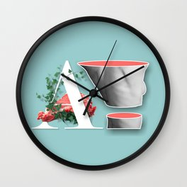 The rags of my anatomy Wall Clock