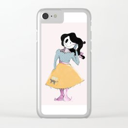 I'm on the phone! Clear iPhone Case