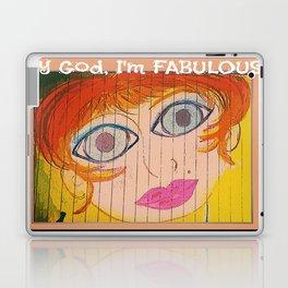 My God, I'm FABULOUS! Laptop & iPad Skin