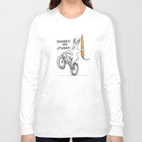 onward Long Sleeve T-shirts featuring ONWARD AND UPWARD by Taj Mihelich