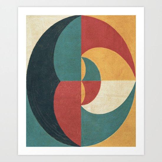 Lunar Phase Art Print