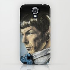 Spock - The Pain of Loss (Star Trek TOS) Galaxy S4 Slim Case