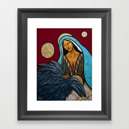 Lay Down Your Burdens Framed Art Print