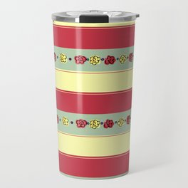 A Rosey Outlook Travel Mug