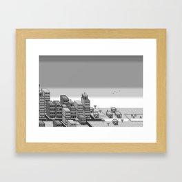 Hero - Sprite Art Framed Art Print