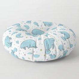 Manatees Floor Pillow
