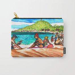 beach vibes haad rin beac thailand Carry-All Pouch