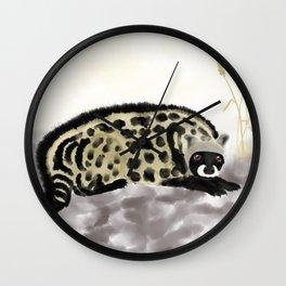 African civet Wall Clock