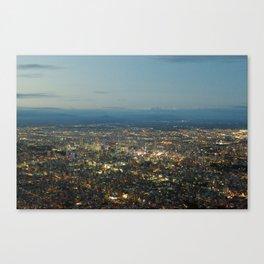 JAPAN AT NIGHT Canvas Print