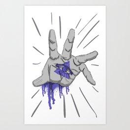 Coming at ya! Art Print
