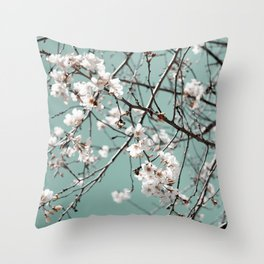 SRING BLOSSOMS  Throw Pillow