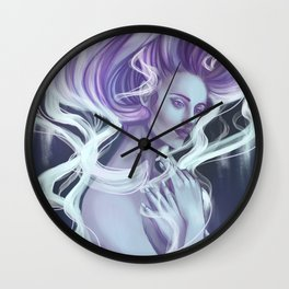 Essentia Spiritu Digital Painting Wall Clock