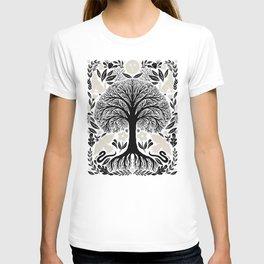 midnight forest moon T-shirt