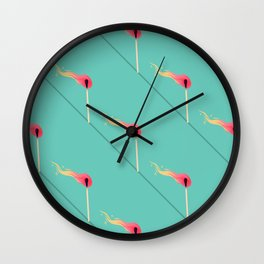 Fired Up Wall Clock