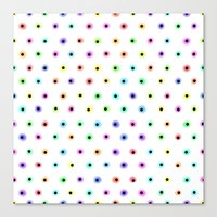 polka Canvas Prints featuring POLKA by Rceeh