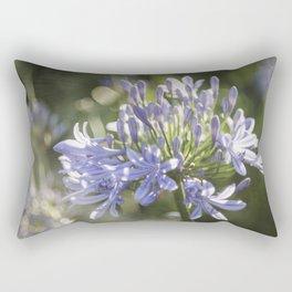 African Lily Bokeh Delight Rectangular Pillow