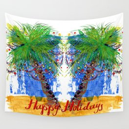 Tropical Holiday Wall Tapestry