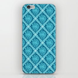 Octopus Cameo Pattern iPhone Skin