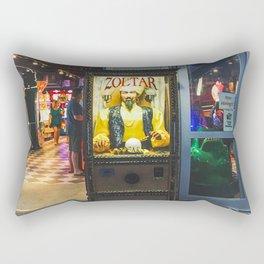 Mighty Zoltar Speaks Rectangular Pillow