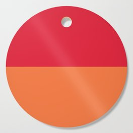 Raspberry Peach Orange Cutting Board
