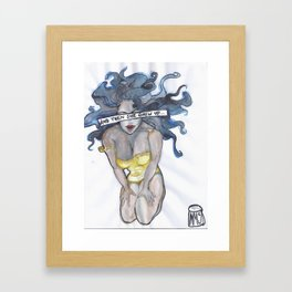 Grew Up Framed Art Print