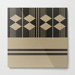 Composition 8 Metal Print
