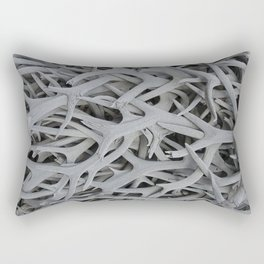 REMNANTS OF MATING SEASON Rectangular Pillow