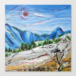 A Stone's Throw Canvas Print