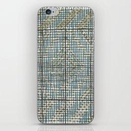 boceto de tejido iPhone Skin