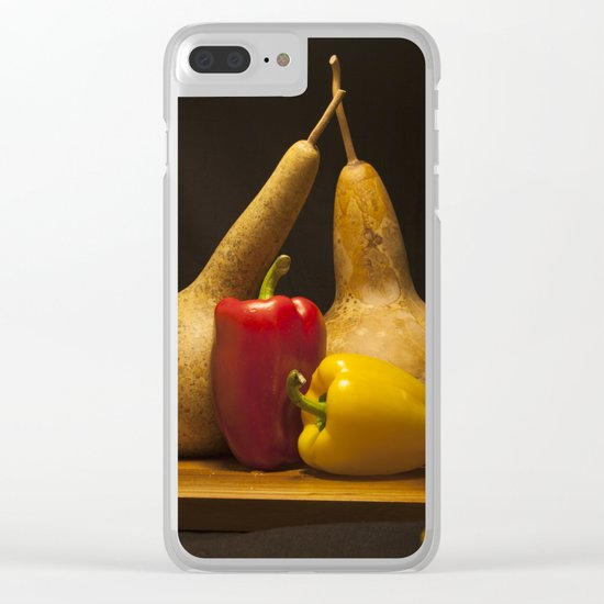 Vegetable Still life Clear iPhone Case