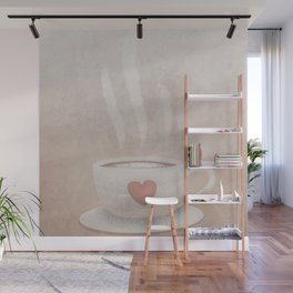A Whole Latte Love Wall Mural
