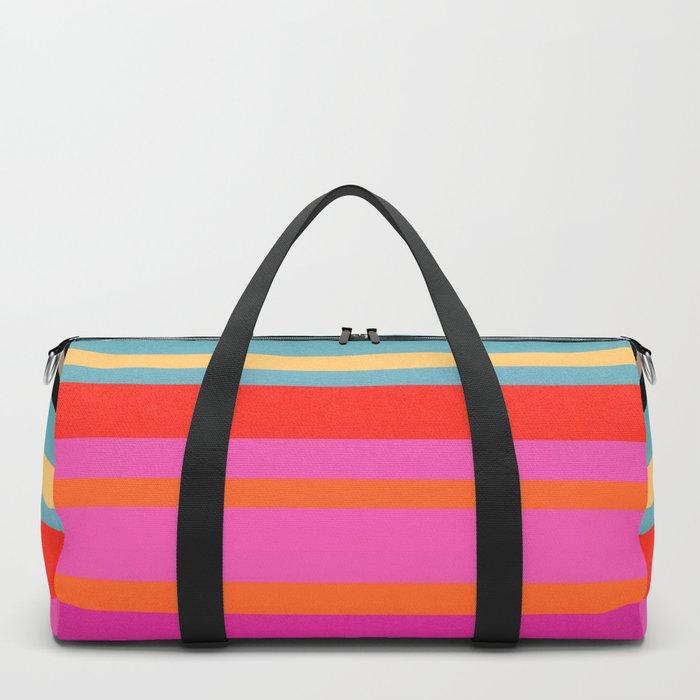 Sunset Stripes Duffle Bag