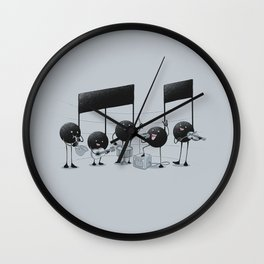 The Entertainer Wall Clock