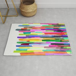Colorful Stripes 4 Rug