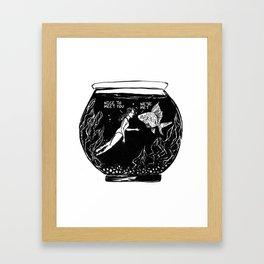 Insomnia diary 2 Framed Art Print
