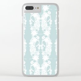 Heather and Crystal Collection Clear iPhone Case