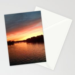 Dramatic Sunset Stationery Cards