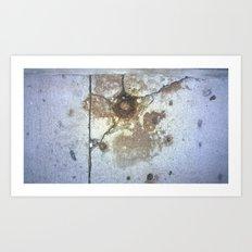ground rust Art Print