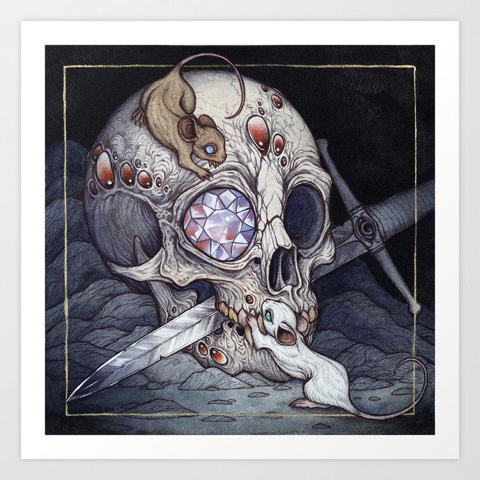 Treasure of the Devil's Bayou Art Print