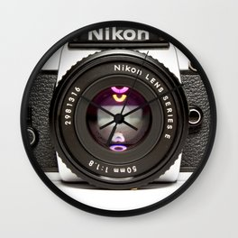 Nikon Camera Style Wall Clock