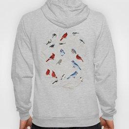 Winter Birds Hoody