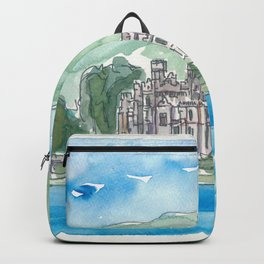 Ireland Kylemore Abbey Connemara County Galway Backpack