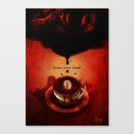 Fragile little teacup Canvas Print
