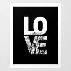 LOVE NO2 Art Print