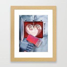 The Oz Suite - the Tin Man Framed Art Print