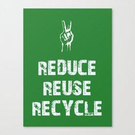 Reduce... Canvas Print