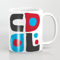 code Mugs featuring CODE by Apolo Arauz