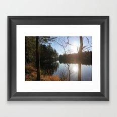 Lake I Framed Art Print
