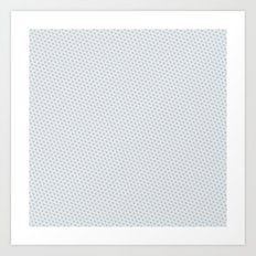 U13: grey droplet Art Print